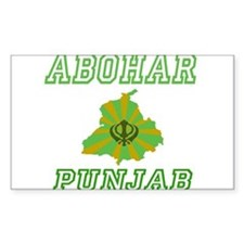 Abohar, Punjab Rectangle Decal