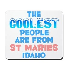 Coolest: St Maries, ID Mousepad