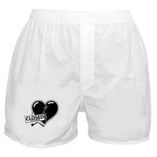 Closed For Repairs Heart Boxer Shorts