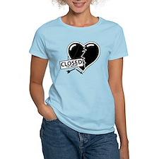 Closed For Repairs Heart T-Shirt