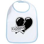 Closed For Repairs Heart Bib