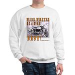 WIDE WHITES on a BIKE Sweatshirt