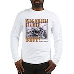 WIDE WHITES on a BIKE Long Sleeve T-Shirt