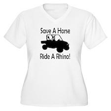 Save A Horse Ride A Rhino T-Shirt