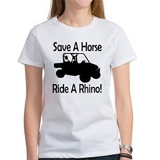 Save A Horse Ride A Rhino Tee