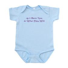 Wiccan Rede Infant Bodysuit