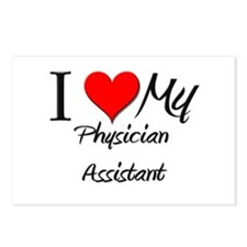 I Heart My Physician Assistant Postcards (Package
