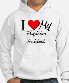 I Heart My Physician Assistant Hoodie
