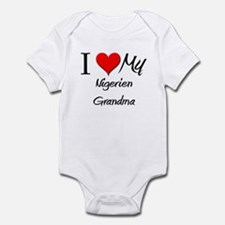 I Heart My Nigerien Grandma Infant Bodysuit