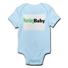 """Nursing Baby"" Infant Creeper"
