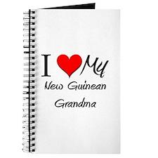 I Heart My New Guinean Grandma Journal