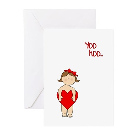 Yoo Hoo Valentine Greeting Cards (Pk of 10)