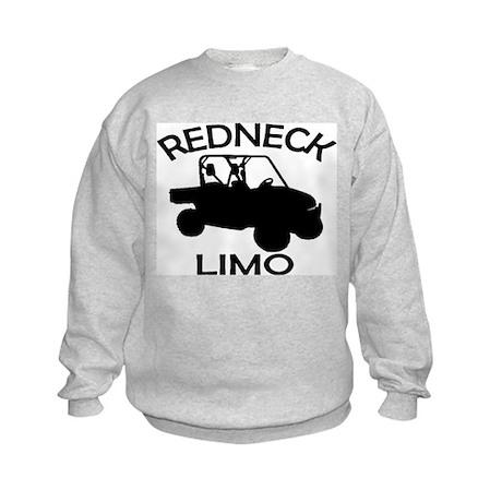 Redneck Limo Kids Sweatshirt