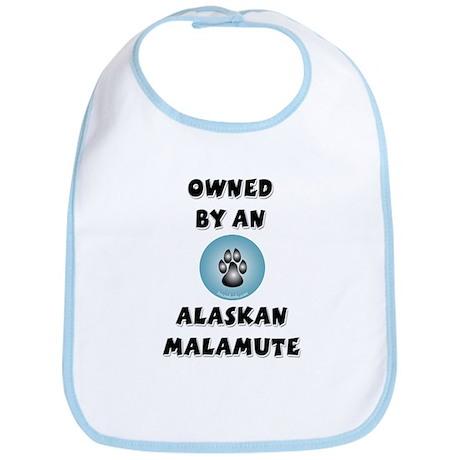 Owned by a Malamute Bib