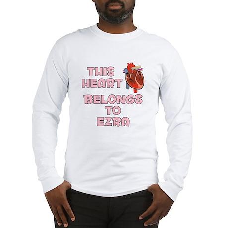 This Heart: Ezra (C) Long Sleeve T-Shirt