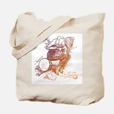 Tangled Knitter's Tote Bag