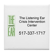 Listening Ear Tile Coaster