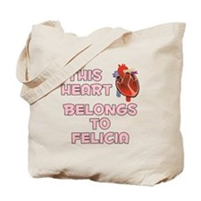 This Heart: Felicia (C) Tote Bag