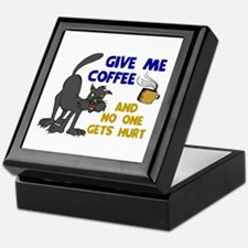 Give Me Coffee 1 Keepsake Box