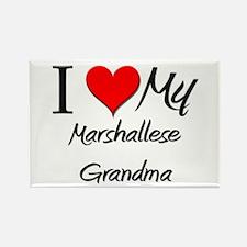 I Heart My Marshallese Grandma Rectangle Magnet
