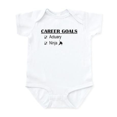 Actuary Career Goals Infant Bodysuit