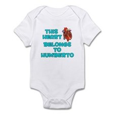 This Heart: Humberto (B) Infant Bodysuit
