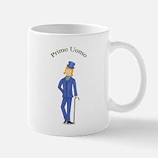 Blond Primo Uomo in Blue Suit Mug