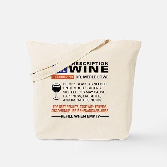 Funny Wine Tote Bag