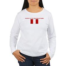 PROPERTY OF MY PERUVIAN BOYFR T-Shirt