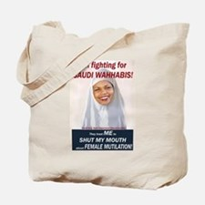 Condi Rice - Dhimmi for FGM Tote Bag