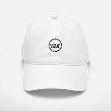 I just got hucked Baseball Baseball Cap