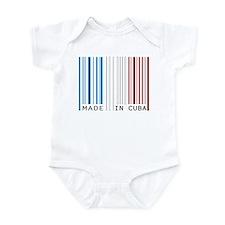 made in cuba Infant Bodysuit