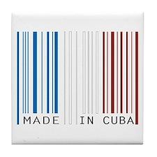 made in cuba Tile Coaster