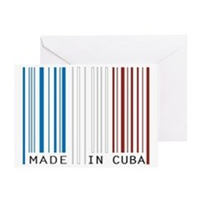 made in cuba Greeting Card