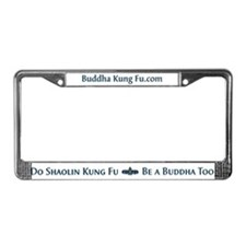 Buddha Kung Fu License Plate 2