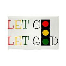 Let God Rectangle Magnet