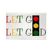 Let God Rectangle Magnet (100 pack)