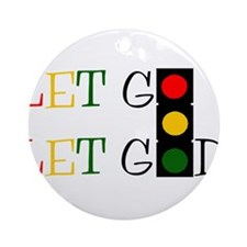 Let God Ornament (Round)