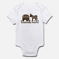 Everyone Poops Infant Bodysuit