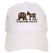 Everyone Poops Baseball Cap