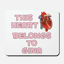 This Heart: Gina (C) Mousepad