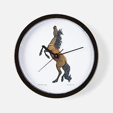 Mustang ~ Horse ~ Wall Clock