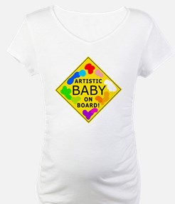 artistic baby on board Shirt