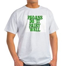 ...Fairy Well (Pagan Ash Grey T-Shirt)