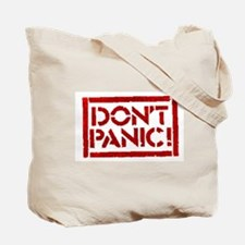 Hitchhiker - Don't Panic! Tote Bag