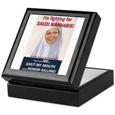 Condi Rice - Honor Killing Apologist Keepsake Box