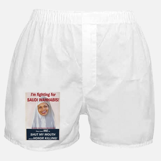 Condi Rice - Honor Killing Apologist Boxer Shorts