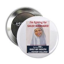 """Condi Rice - Honor Killing Apologist 2.25"""" Button"""