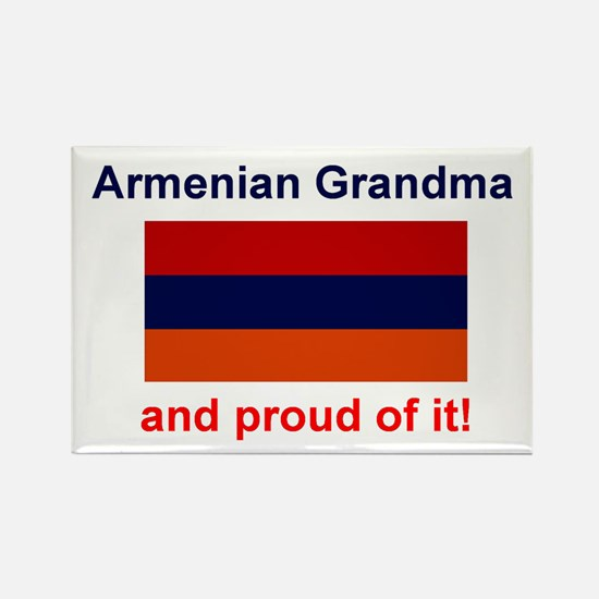 Proud Armenian Grandma Rectangle Magnet