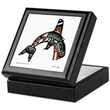 Native american indian pacific northwest Keepsake Boxes